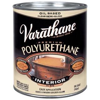 Varathane 242171H 1 Quart Oil Based Clear Semi Gloss Polyurethane