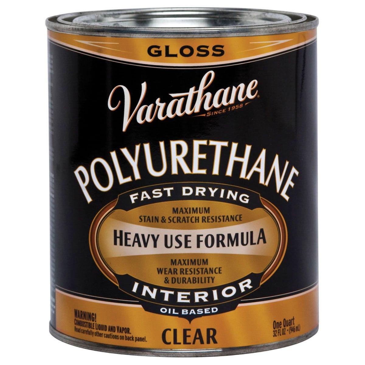 Varathane 242174H 1 Quart Clear Gloss Low VOC Polyurethan...