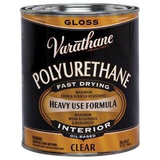 Varathane 242174H 1 Quart Clear Gloss Low VOC Polyurethane