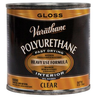 Varathane 242175H 1/2 Pint Clear Gloss Low VOC Polyurethane