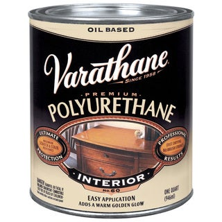 Varathane 242177H 1 Quart Oil Based Satin Polyurethane