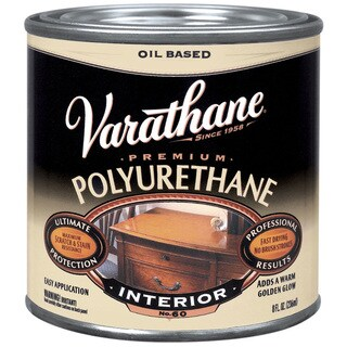 Varathane 242178H 8 Oz Oil Based Satin Polyurethane