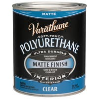 Varathane 262074 1 Quart Clear Matte Soft Touch Polyurethane