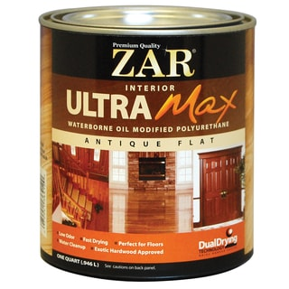 Zar 36412 1 Quart Interior Waterborne Oil Modified Polyurethane