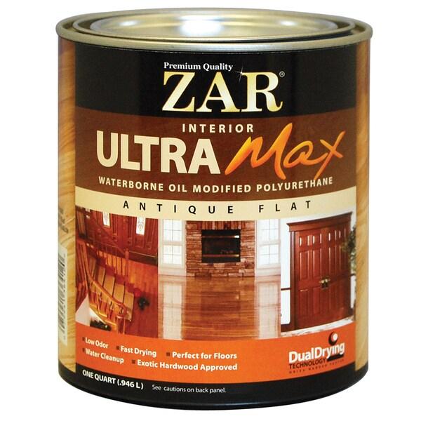 Shop Zar 36412 1 Quart Interior Waterborne Oil Modified