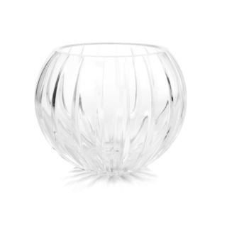 Lionel Richie Impulse Home Jardin Clear Crystal Small Sphere Candle Holder