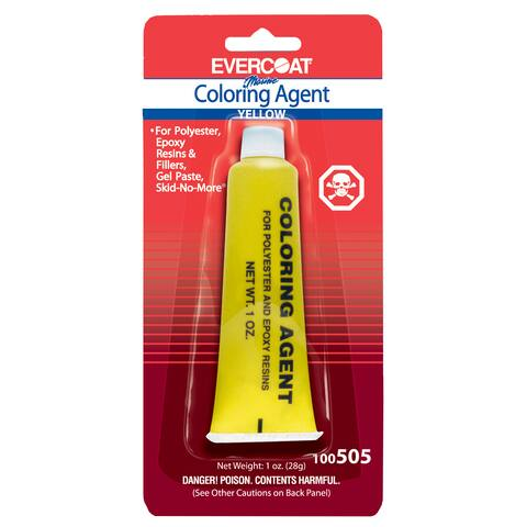 Evercoat 100505 1 Oz Tube Sunset Yellow Evercoat Coloring Agent