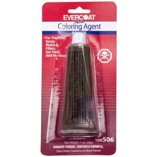 Evercoat 100506 1 Oz Tube Brown Evercoat Coloring Agent