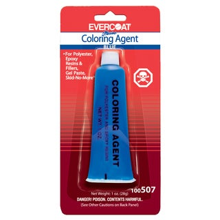 Evercoat 100507 1 Oz Tube Admiral Blue Evercoat Coloring Agent