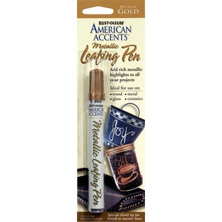 American Accents 215190 1/3 Oz Metallic Gold American Accents Leafing Pen