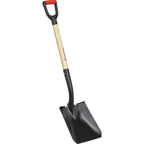 Corona SS27010 16 Gauge Tempered Steel Square Shovel With 30-inch Wood Handle