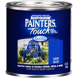 Painters Touch 224428T 1 Qt Deep Blue Painters Touch Gls Multi Purpose Latex Paint