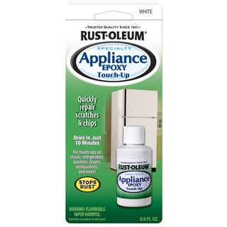 Rustoleum 203000 0.6 Oz White Specialty Appliance Epoxy Touch Up Paint