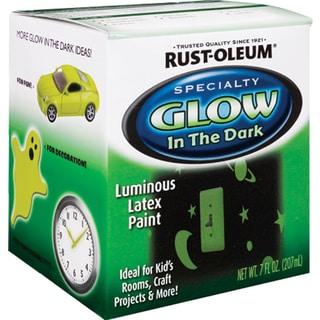 Rustoleum Specialty 214945 1/2 Pint Glow In The Dark Luminous Latex Paint