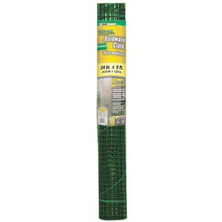 Yard Gard 308253B 24 inches x 5 feet Green 1/2 Inches Mesh Hardware Cloth