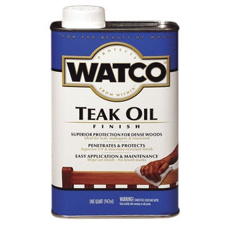Watco 242226H 1 Quart Teak Oil Wood Finish