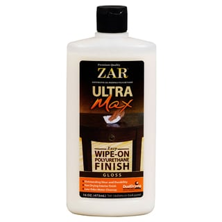 Zar 37111 16 Oz Gloss Ultra Max Easy Wipe On Polyurethane Finish