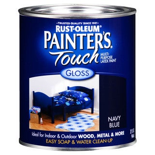 Painters Touch 1922-502 1 Quart Navy Blue Painters Touch Multi-Purpose Paint