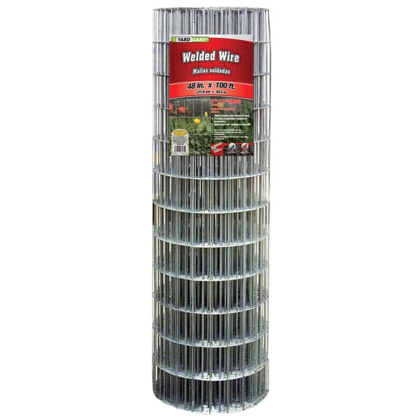 Yard Gard 308312B 48 inches x 100 feet Galvanized Welded Mesh Fence