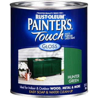 Painters Touch 1938-502 1 Quart Hunter Green Painters Touch Multi-Purpose Paint