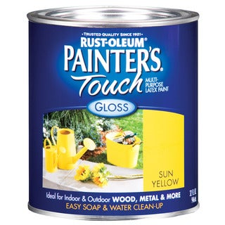 Painters Touch 1945-502 1 Quart Sun Yellow Painters Touch Multi-Purpose Paint