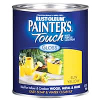 Painters Touch 1945-502 1 Quart Sun Yellow Painters Touch Multi-Purpose Paint