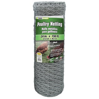 Yard Gard 308413B 24 inches x 150 feet 1 inch Mesh Hexagonal Poultry Netting