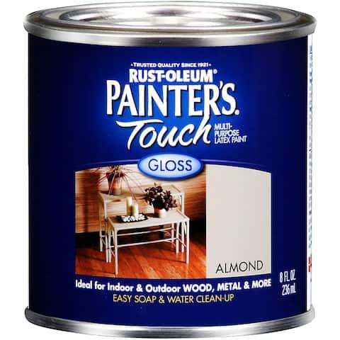 Painters Touch 1994-730 1/2 Pint Almond Painters Touch Multi-Purpose Paint