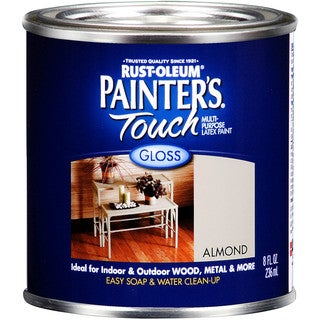 Painters Touch 1994-730 1/2 Pint Almond Painters Touch Multi-Purpose Paint