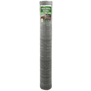 Yard Gard 308435B 72 inches x 150 feet 1 inch Mesh Galvanized Poultry Netting