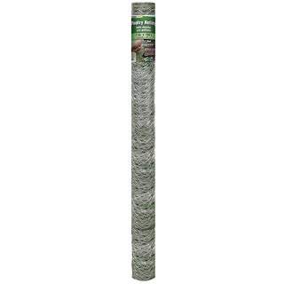 Yard Gard 308498B 72 inches x 150 feet 2 Inches Mesh Galvanized Poultry Netting