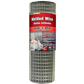 Yard Gard 309301A 24 inches x 25 feet 1/2 Inches Mesh Galvanized Welded Mesh Fence