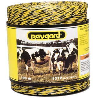 Baygard 00122 1,312 feet Yellow And Black Portable Electric Fence Wire