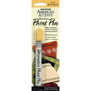 American Accents 215156 1/3 Oz Satin Buttercup Decorative Paint Pen