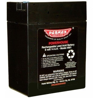 Parmak Precision 1901 6-Volt Fencer Battery