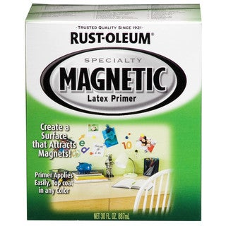 Rustoleum Specialty 247596 1 Quart Magnetic Latex Primer