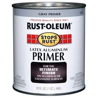 Rustoleum Stops Rust 8781-502 1 Quart Latex Aluminum Primer