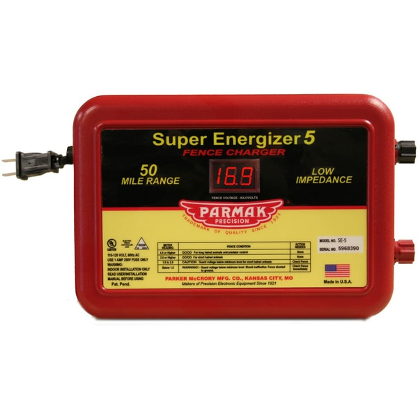 Parmak Precision SE5 Super Energizer 5 Fencer