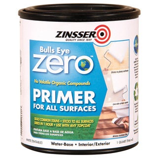 Zinsser 249019 1 Quart Bull Eye Zero Primer