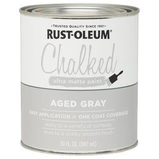 Rustoleum 285143 30 Oz Aged Gray Chalked Ultra Matte Paint