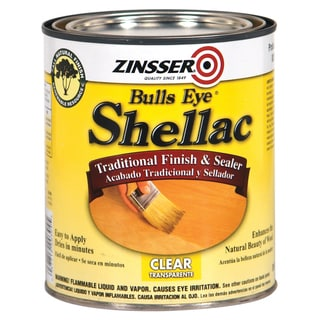 Zinsser 304H 1 Quart Clear Bulls Eye Shellac