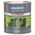 Hammerite Rust Cap 43175 1 Qt Mid Green Hammered Finish Enamel Paint