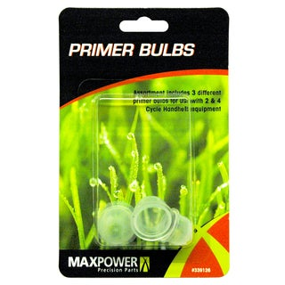 Maxpower 339126 Primer Bulb Combo Pack 3-count