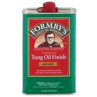 Formbys 30063 16 Oz High Gloss Tung Oil Finish