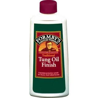 Formbys 30066 8 Oz High Gloss Tung Oil Finish