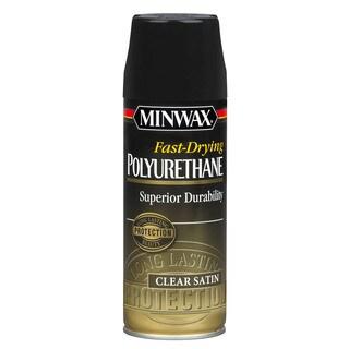 Minwax 33060 Satin Fast-Drying Polyurethane Finish