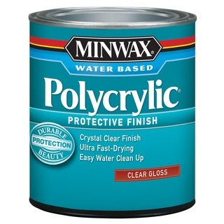 Minwax 65555 1 Quart Polycrylic Protective Finishes
