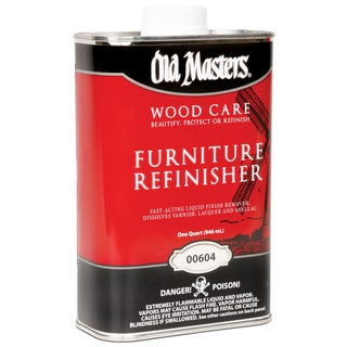 Old Masters 00604 1 Quart Furniture Refinisher