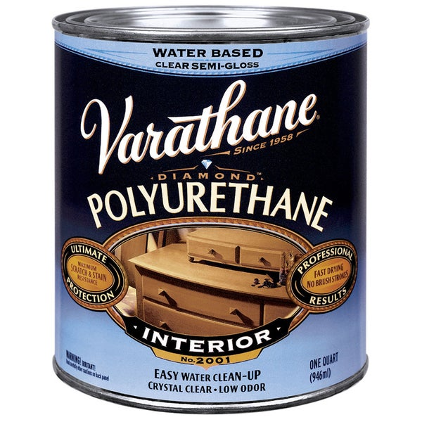 Shop Varathane 200241H 1 Qt Satin Intr Water-Based Diamond