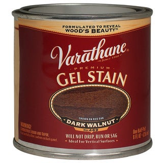Varathane 224503 1/2 Pint Dark Walnut Gel Stain